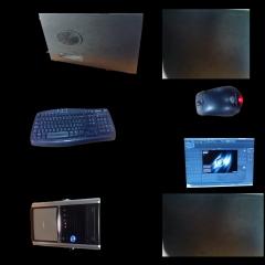 Computer UVW Textured